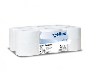 Celtex WC papír, MINI, 2 rétegű, 100% puracell.160 méter, d19, 12 tek/cs