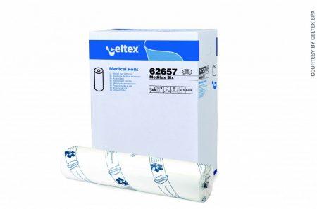 Orvosi lepedő, Mediroll fehér 100%cel, 2 rétegű ágyterítő