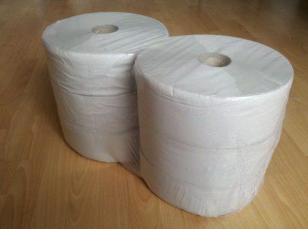 WC papír, MIDI, 1 rétegű, natúr, PRÉMIUM, 220m, 6 tek/cs
