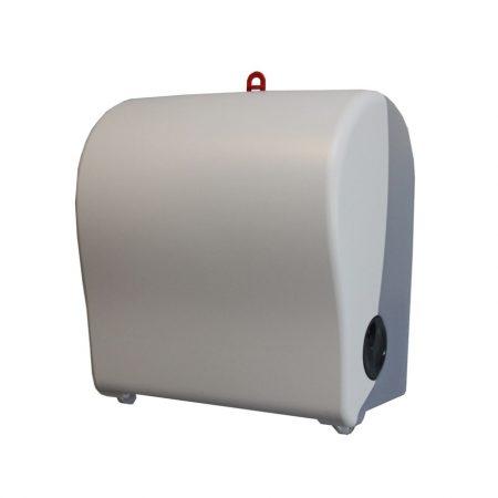 Hengeres kéztörlő adagoló, fehér, MATIC papírhoz