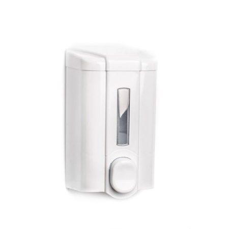 Vialli Folyékony szappan adagoló - fehér, ABS ablakos 500ml