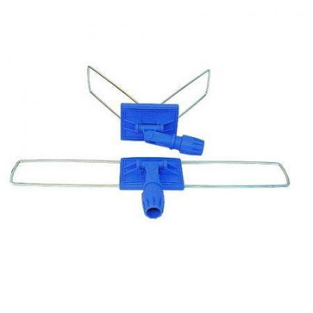 Fémkeretes moptartó műanyag csatlakozóval, 80 cm