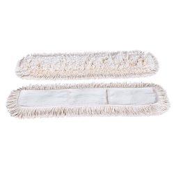 Pamut száraz zsebes mop, 80 cm